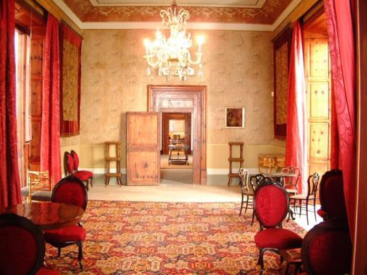 Imagen del interior de la casa señorial Can Marqués.