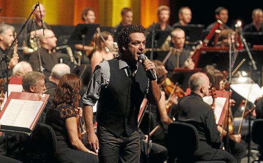 El espectáculo 'Anglada Simfònic' sonará mañana por la noche en las bodegas Macià Batle.