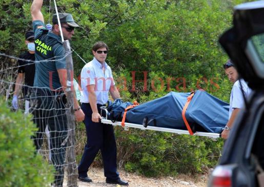 El cuerpo ha sido hallado en el camino de Es Cocons, en Bunyola.