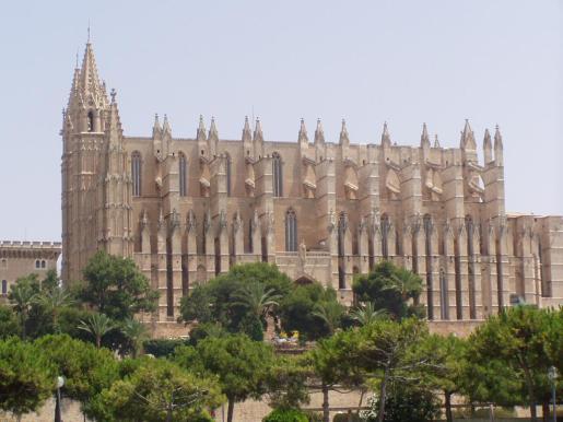 La Seu es conocida como la 'catedral del mar'.