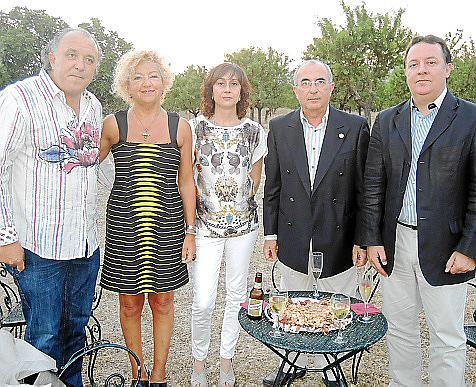 Andreu Gili, Marga Beltran, Marga Llobera, Tòfol Soler y Rafel Torres.