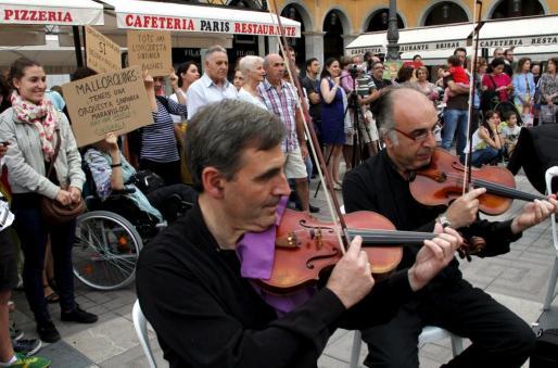El de Son Damento no será el primer concierto protesta realizado por la Simfònica.