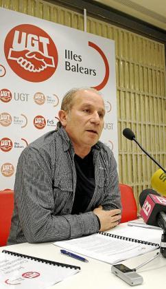 Manuel Pelarda, secretario de acción sindical de UGT en Balears.