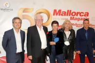 Imágenes del foro con motivo del 50 aniversario del 'Mallorca Magazin'