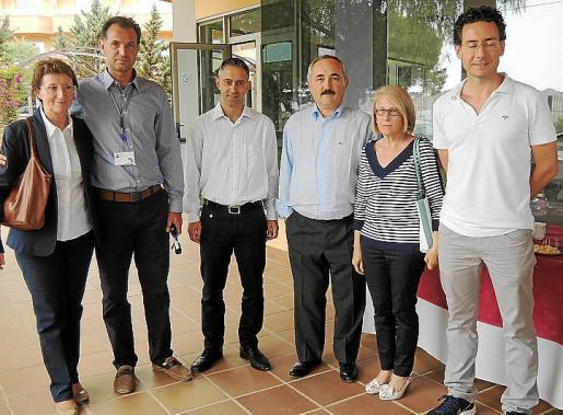 Irma Schadegg, Toni Pérez, Joan Mestre, Antoni Roig, Maria Montserrat Llinàs y Marco Gobbi.