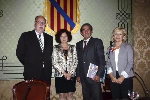 Pau Cateura, Aina Rado, Guillem Morro y Bárbara Galmés.