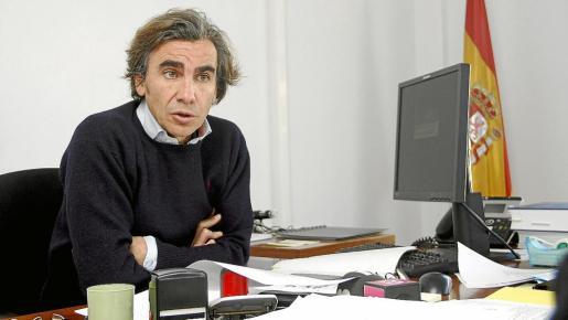 PALMA. FORENSES. JAVIER ALARCÓN , DIRECTOR DEL INSTITUTO DE MEDICINA LEGAL DE BALEARES. MAS FOTOS EN EL DISCO DEL 29-01-2013