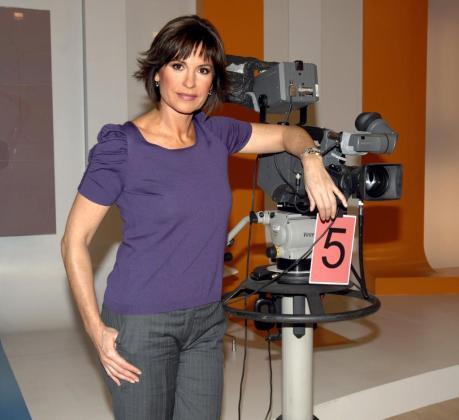 Fotografía de archivo del 12-11-2009 de la periodista Concha García Campoy, que padecía una leucemia desde 2012, y ha fallecido hoy a los 54 años.