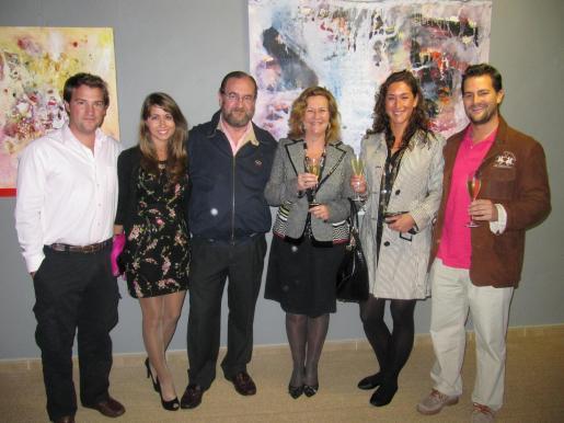 Carlos Dubois, Inés Martínez, Enrique Dubois, Maria Angeles Chicharro, Melissa Sapmaz y Enrique Dubois.