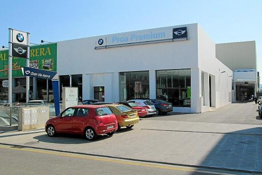 El Grupo Proa continua su expansión en Mallorca con la incorporación ahora de BMW y Mini.