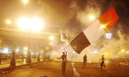 Al menos siete personas han muerto y 261 han resultado heridas a causa de los disturbios en El Cairo.