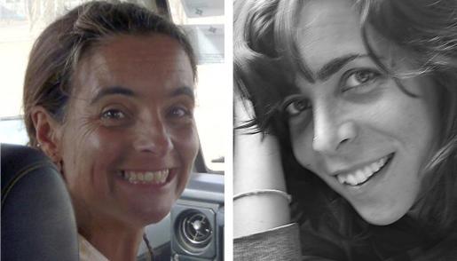 La madrileña Blanca Thiebaut (d), de 30 años, y la catalana Montserrat Serra, de 40, cooperantes de Médicos sinFronteras, fueron secuestradas hace casi dos años en Kenia.