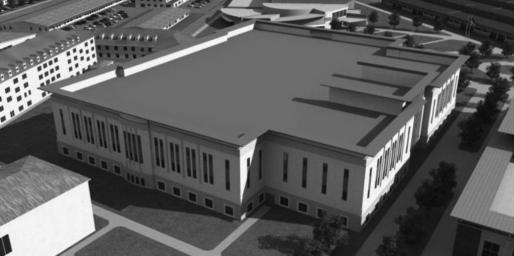 Foto facilitada por el Ejército de EEUU del futuro centro de mando militar de la NSA en la base aérea estadounidense de Wiesbaden-Erbenheim (Alemania).