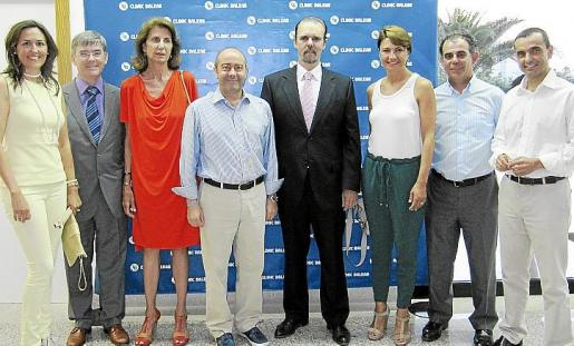 Inauguración clinic Balear.