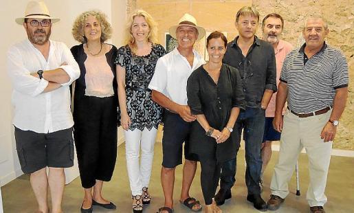 Lluís López, Mariana Alzamora, Aina Pastor, Ricardo Sacco, Natalia Spitale, Salvador Martínez, Pako Lorente y Alejandro Ruesgas.