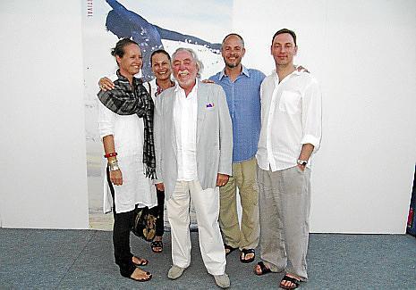 Frida, Elisabeth, Alberto, Paul y Joey Rosselló.