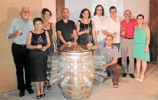 Toni Tugores, Aina Maria Mulet, Teresa Majoral, Celestí Majoral, Rosa Campomar, Jaume Salom, Andreu Majoral, Toni Fernández, Andreu Majoral y Mireia Majoral.
