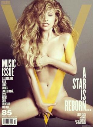 La cantante ha reaparecido con un desnudo.