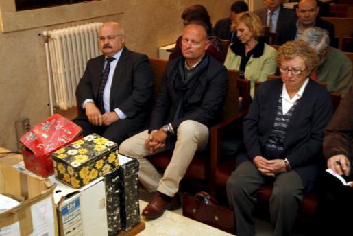 Imagen de una de las sesiones del juicio por el caso Scala, celebrado el pasado mes de abril.