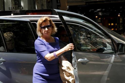 Maria Antònia Munar, en una imagen del pasado martes.