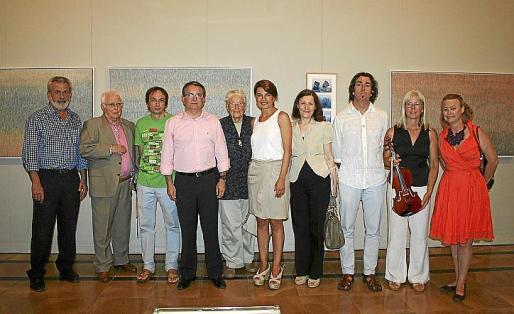 Damiá Rigo, miguel POns, Marcos Vidal, Joan Rotger, Eva Chuong, Margalida Durán, Catalina Sureda, Pere JOan Martorell, Gisela María Raum y Carlota Oliva.