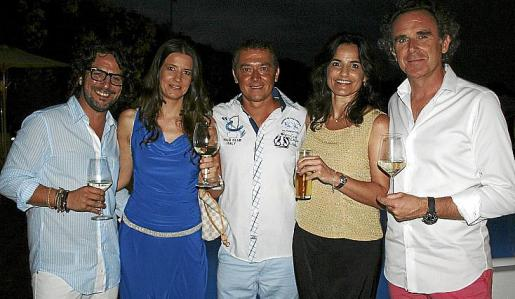 Jaime Gomila, Sara Espinosa, Chus Romero, Cristina Duró y Arturo Vila.