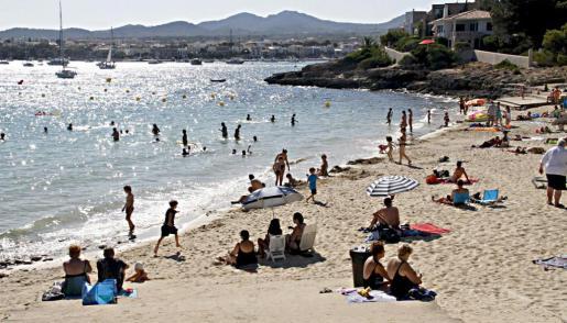 S'Arenal de Portocolom es una de las preferidas por los felanitxers.