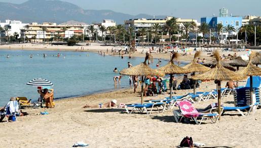 Ciudad Jardín es una de las playas de Palma más recurrentes para el residente y el visitante.