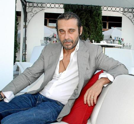 Jordi Mollà, en la terraza del Hotel Gran Melià Victoria.