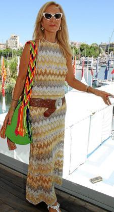 Carmen Lomana, elegante y cañera, no se corta a la hora de opinar.