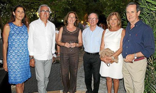 Susana Homar, Antoni Darder, Pilar de Meer, Juan González de Chaves, Mariuca Buades y Toni Morell