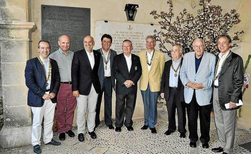 Antonio Vázquez, Rene Anderhub, José Balaguer, Pedro Arrom, Pancho Roses, Rafael Borrás, Justo Pérez, Tummy Bestard y Emilio Martínez-Almoyna.
