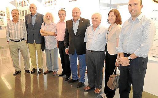 Bartomeu Alemany, Guillem Estarellas, Toni Caimari, Joan Pons, Biel Serra, Joan Parets, Catalina Sureda y Joan Enric Capellà.