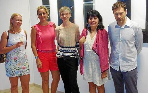 Icon Zar, Rosa Vanrell, Marta Fuster, Magdalena Ferraté y Pedro Vidal.
