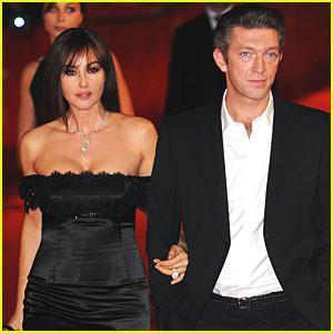 Monica Bellucci y el actor francés Vincent Cassel, en una imagen de archivo.