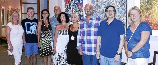 Beatriz García, Paul Le Falher, Olga Bonnín, Paco Romera, Luz Marcos, Elisa Nieto, Karim Gaafar, Gabriel Grau y Maribel Arnau.