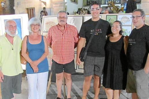 Josep Bonnín, Rafela Garcia, Francisco Rodríguez, David Rodríguez, Catalina Palou y Miguel Ozonas.