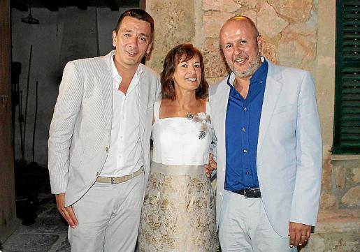 Alberto Coego, Xisca Torres y Miquel Ensenyat