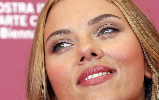 Scarlett Johansson, hoy en Venecia.