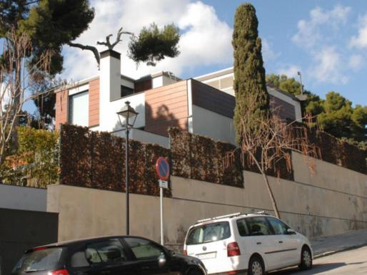 Imagen del palacete de Pedralbes propiedad de los duques de Palma.