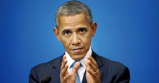 El presidente Barack Obama compareció en una rueda de prensa junto al primer ministro sueco, Fredik Reinfeldt, que no aparece en la foto.