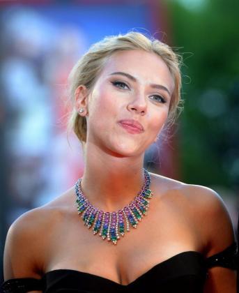 Fotografía de este 3 de septiembre de 2013 de la actriz estadounidense Scarlett Johansson.