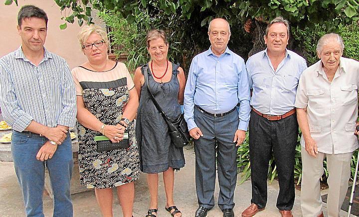 Homenaje a Javier Mayol en Can Prunera