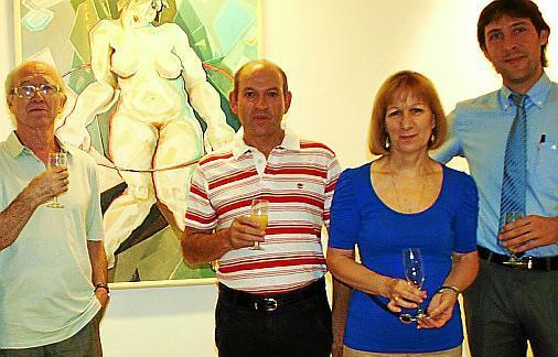 Josep Oliver, Jacinto Fernández, María Sanchís y Fran Amengual.