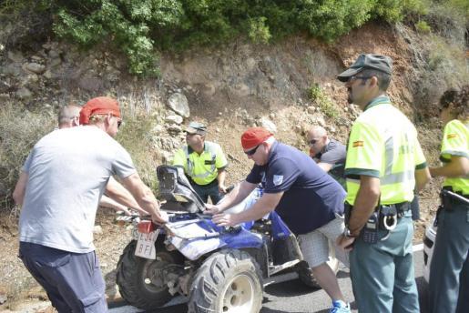 Un hombre ha fallecido en un accidente de quad.