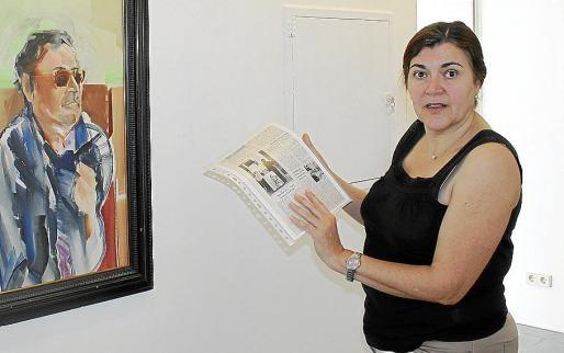 Aina Aguiló Bennàssar, en una imagen reciente tomada en el museo de sa Pobla.