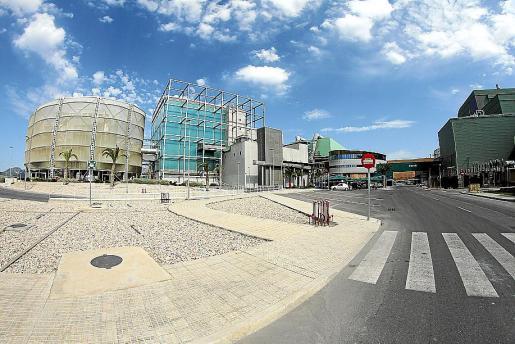 Instalaciones de la empresa Tirme en la zona de Son Reus.