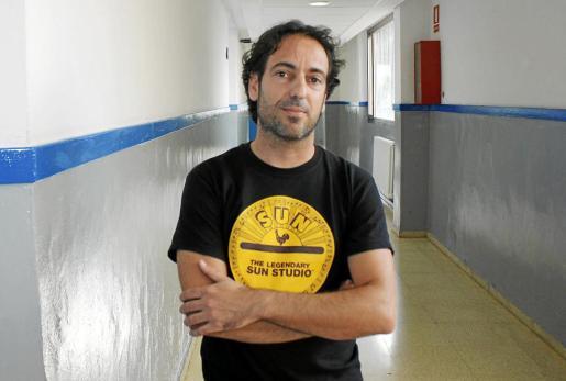 Guillem Barceló, miembro de l'Assemblea de Docents.