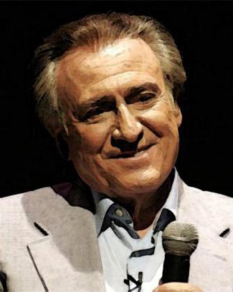 Manolo Escobar, en su última actuación en Palma.