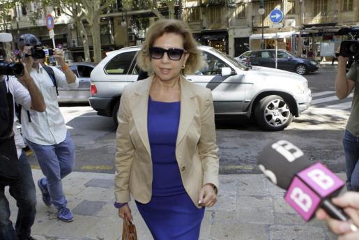 La expresidenta del Consell de Mallorca Maria Antònia Munar, en una imagen de archivo.